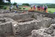 HISTORIC SITE: The Church Commissioners have put Binchester Roman Fort up for sale