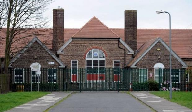 CHOKING TRAGEDY: Billingham's Pentland Primary School where Chantelle Firth choked to death on a piece of boiled egg.