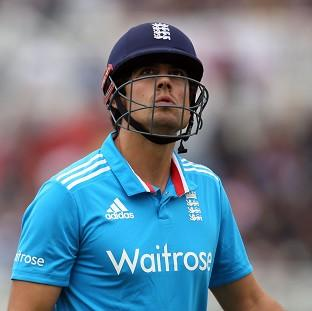 Alastair Cook's side fell to ano