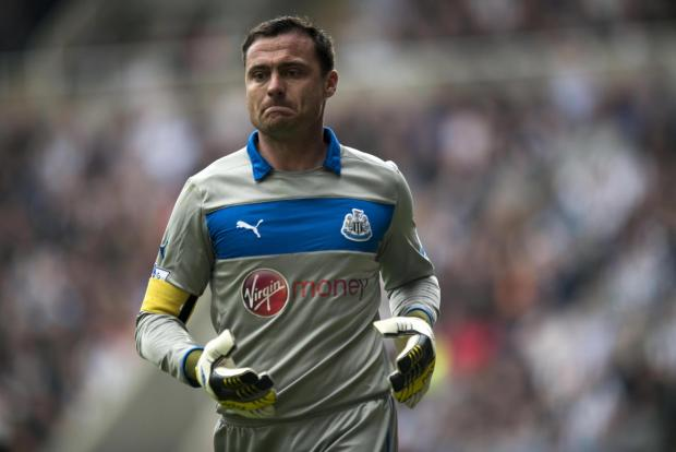 LINED UP: Former Newcastle goalkeeper Steve Harper has been linked with the vacant managerial position at Carlisle United