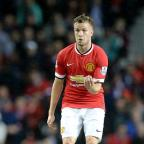 The Northern Echo: Manchester United's Tom Cleverley is staying at Old Trafford
