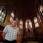 The Northern Echo: : Peter Seed, Estate Director at Ushaw College, 200 year old Catholic seminary. Picture: DAVID WOOD (9880634)