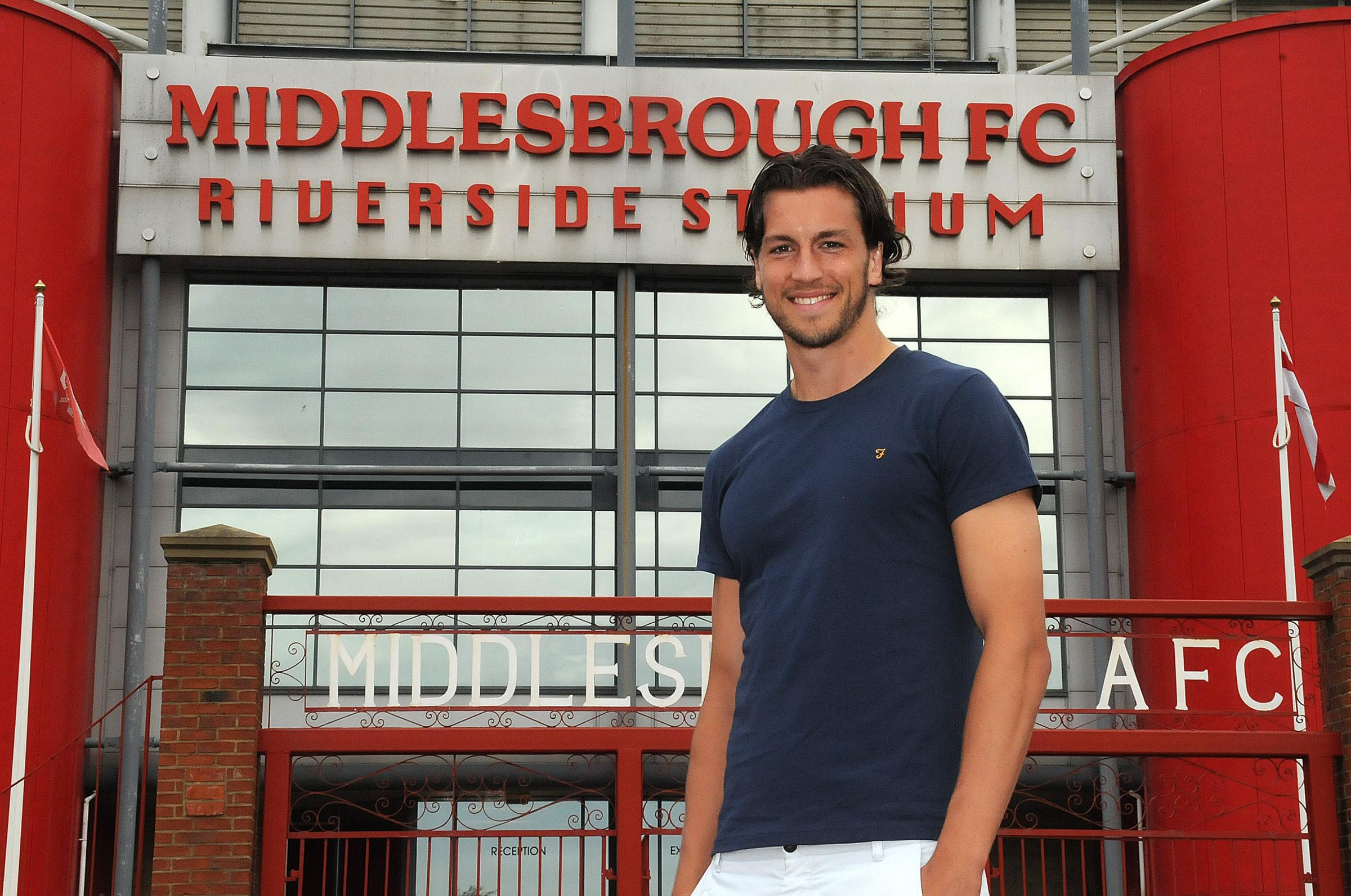 DEFENDER'S DEGREE: Graduate and ex-Boro player Christian Burgess