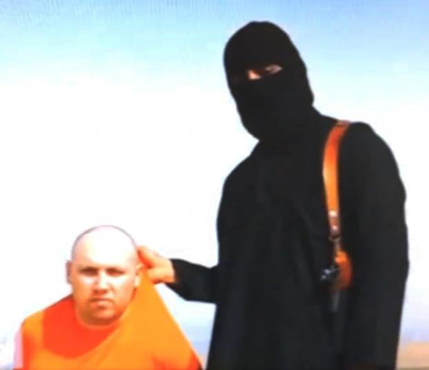 BARBARIC KILLING: Journalist Steven Sotloff being held by the militant group Islamic State