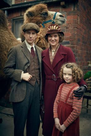 George Mottershead (LEE INGLEBY), Lizzie Mottershead (LIZ WHITE) and June Mottershead (HONOR KNEAFSEY)