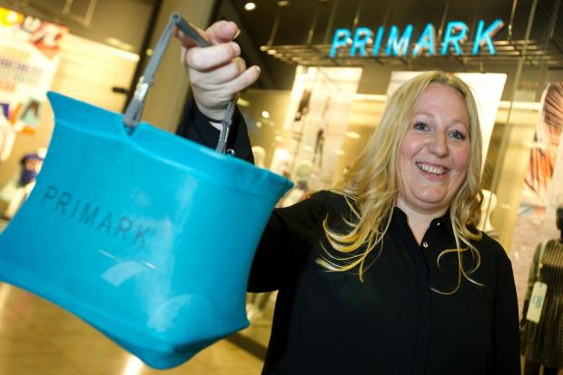 IN THE BAG: Joanne McTeer was helped by Access Training to get a job at Primark