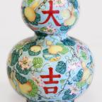 The Northern Echo: SHOCK RESULT: A Chinese enamel vase was knocked down for £10,100, in excess of its price estimate of £40-60.