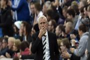 Staying quiet: Newcastle United manager Alan Pardew decided not to hold a pre-match press conference yesterday
