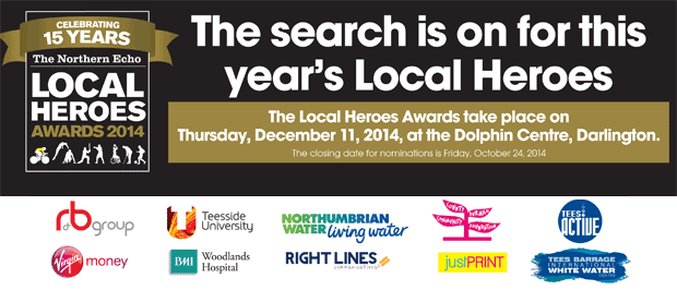 The Northern Echo: Local Heroes Awards 2014