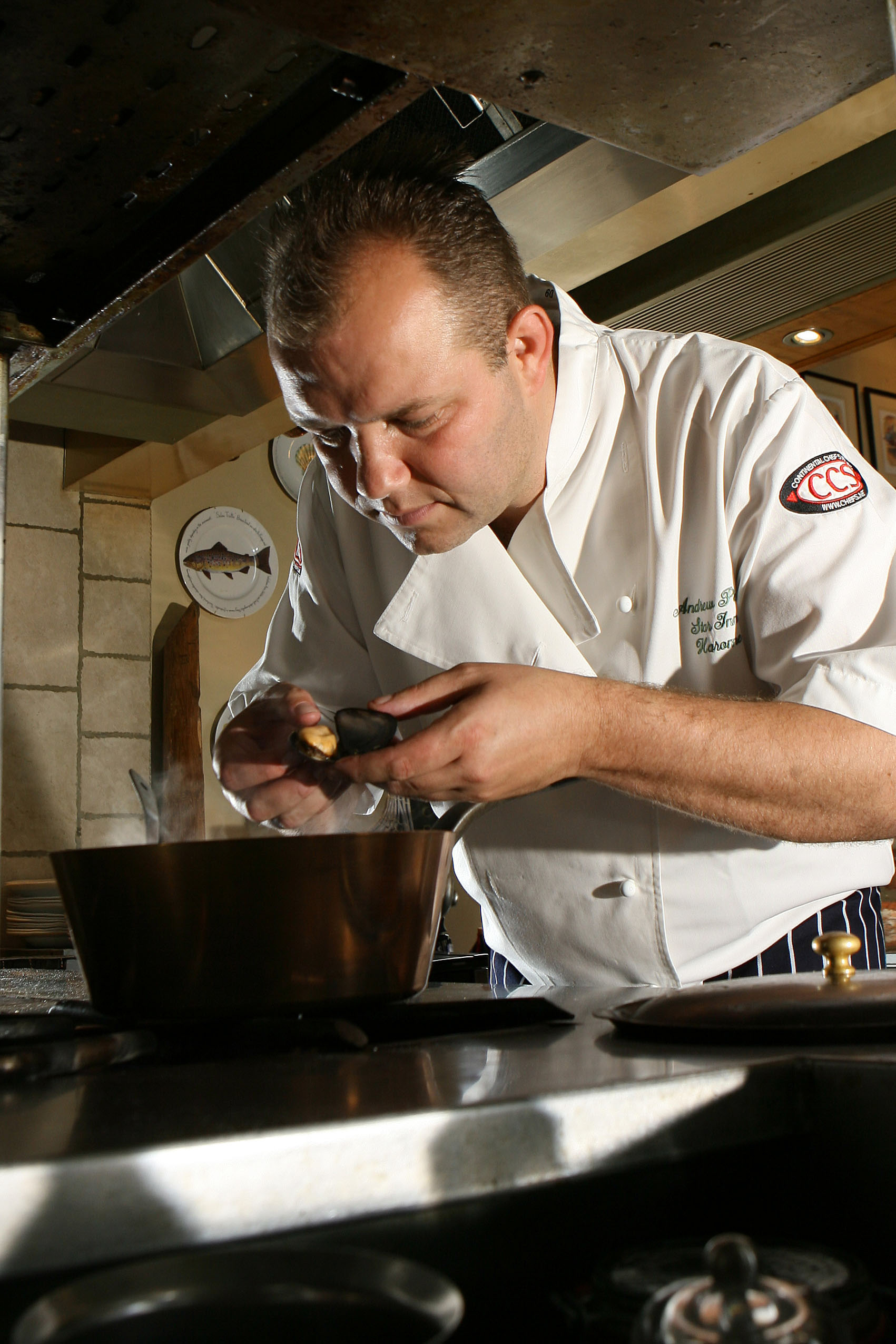 COVETED AWARD: Chef Andrew Pern, at The Star Inn, Harome, near Helmsley