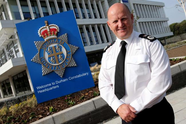 CALL: Durham Chief Constable Mike Barton has called for internet giants to invest in the fight against online child abuse Picture: DAVID WOOD