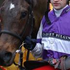 The Northern Echo: MONEY RECOVERED: Andrew Thornton after winning on Kingscliff, at Cheltenham, in December 2003 Picture: PA
