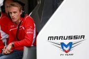 PREPARED: Driver Max Chilton during testing at Silverstone