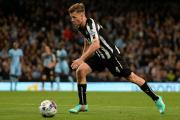 STARTING SPOT: Ryan Taylor will start at left-back as Newcastle take on Manchester United this evening