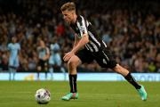 FUTURE IN DOUBT: Ryan Taylor is one of a number of Newcastle players who are set to become free agents this summer