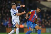 Tough midfielder: Sunderland's Lee Cattermole (left) battles with Crystal Palace's Fraizer Campbell but the Teessider has a softer side