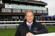 CHAMPION: Bob Champion will be present at Sedgefield Racecourse today for the Remembrance Race Day at the track