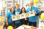SHOP TALK: Durham City MP Roberta Blackman-Woods, second right, with Usdaw members Kate Stokes, Calum Affleck and Paul Robinson at Tesco, Durham Market Place