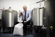 HOPPY MAN: Ralph Wilkinson at the brewery in Number Twenty 2 Picture: STUART BOULTON
