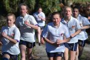 CROSS COUNTRY: Barnard Castle School pupils tackle the cross country course