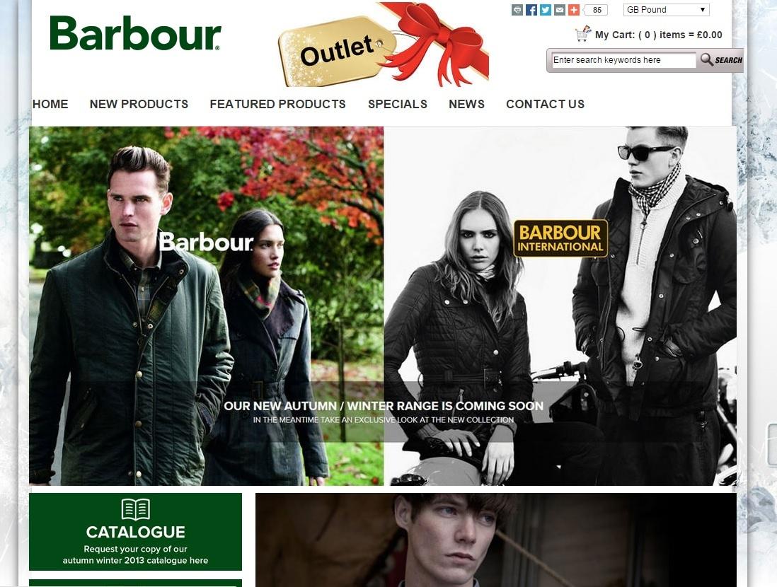 barbour uk website