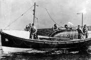 RESCUE BOAT: The ill-fated ECJR lifeboat.