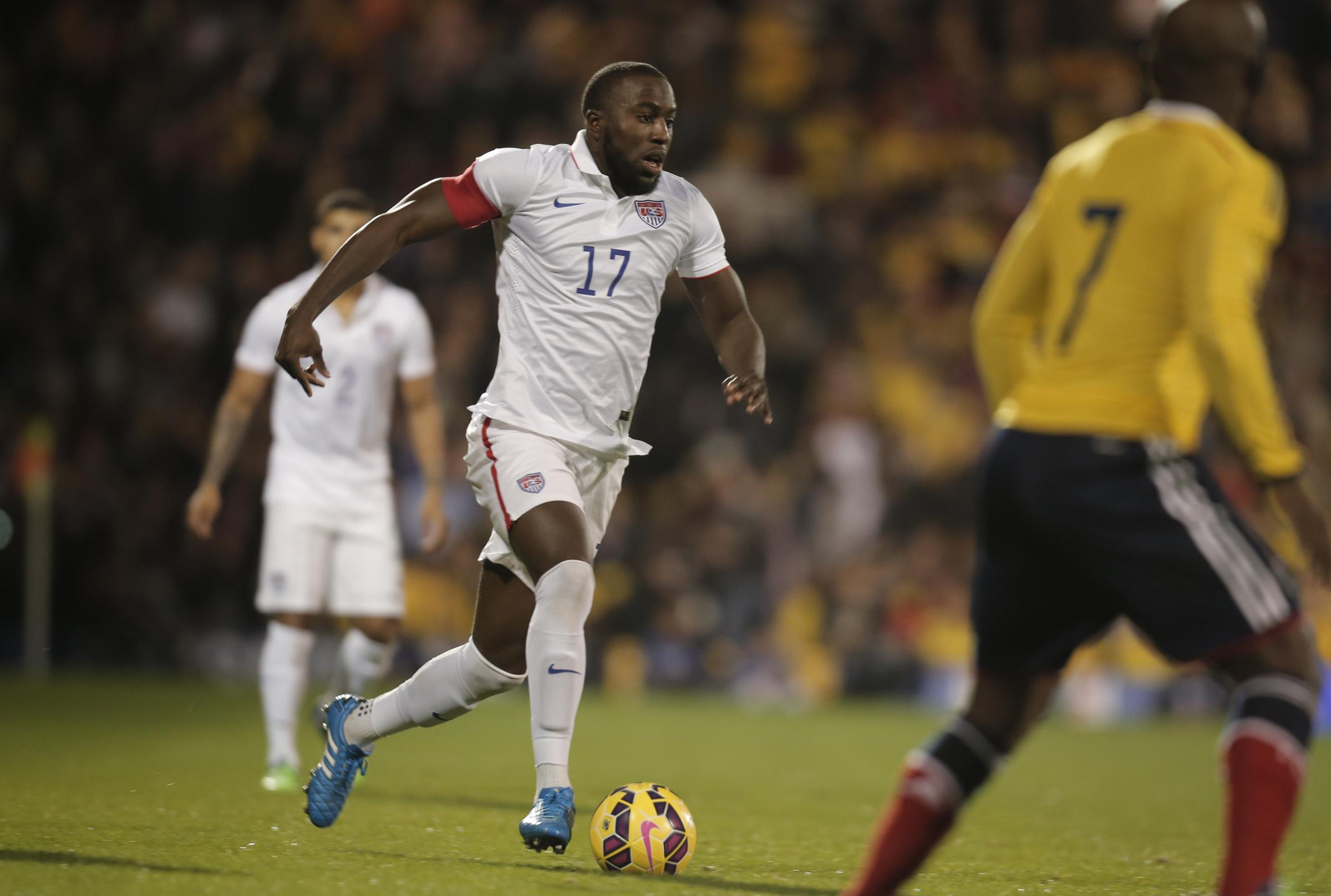 Wanted: Sunderland's USA captain Jozy Altidore is being courted by clubs outside the Premier League