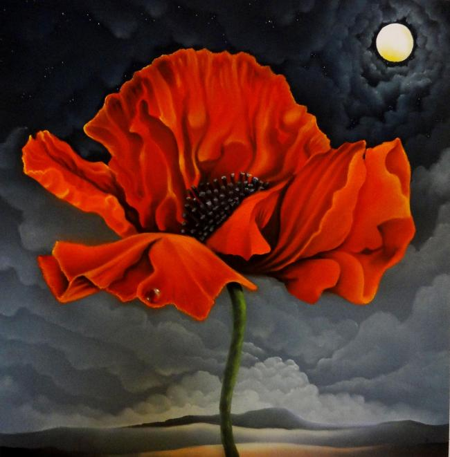 Mackenzie Thorpe's Remembrance sold for £13,000