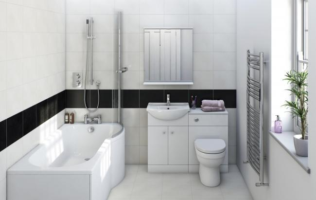 Make the most of small bathrooms with simple but stunning designs ...