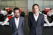 DRIVING FORCE: KPMG is working with the McLaren Group. Pictured are McLaren's Formula One drivers Fernando Alonso, left, and Jenson Button