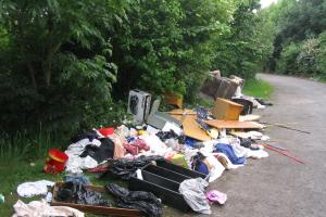 Drivers fined during flytipping crackdown