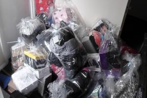 Raids uncover £10,000 worth of suspected fake luxury goods