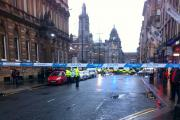 Six feared dead after bin wagon runs out of control in Glasgow