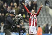 DERBY HERO: Sunderland's Adam Johnson is the latest Tyne-Wear derby hero after his late winner made it four wins in a row over rivals Newcastle