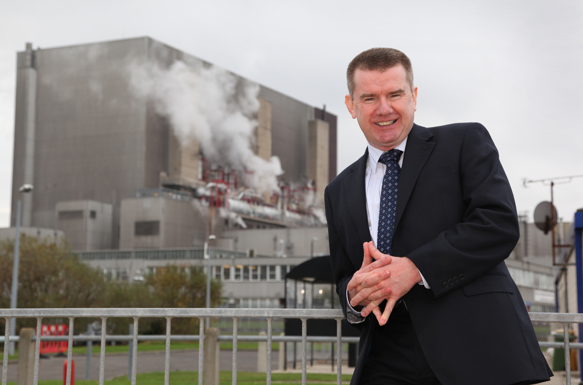 MESSAGE: George Rafferty, NOF Energy chief executive