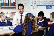 MEET THE HEAD: Peter King of Corporation Road Primary School in Darlington. Picture: STUART BOULTON
