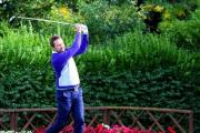 On the tee:  Former PGA North East North West Matchplay Championship winner Sam Oliver