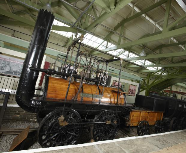 The Northern Echo: HISTORIC: Locomotion No 1 at Head of Steam