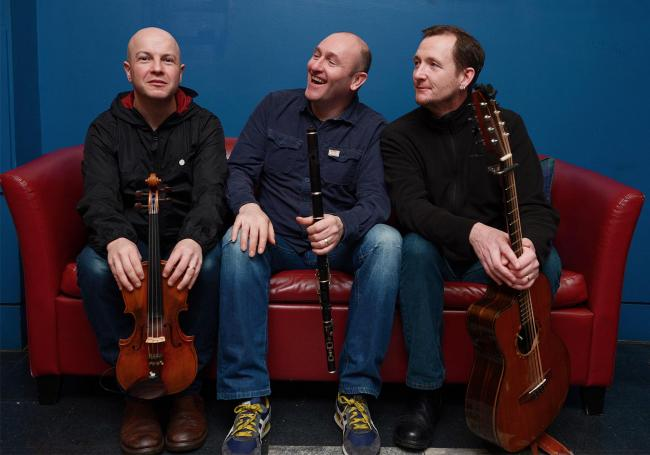McGoldrick, McCusker and Doyle - appearing at The Witham on February 24th