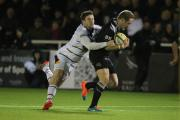 THRILLER: Action from the Aviva Premiership match between Newcastle Falcons & London Wasps at Kingston Park last night. Picture: MARK FLETCHER