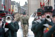 3 RIFLES march during a previous parade