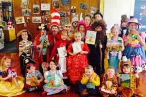 Ingleton Primary School pupils dress up for World Book Day