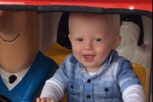 Can you help family of 20-month-old Spennymoor boy achieve his bucket list?