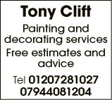 MR TONY CLIFT