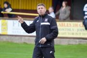 ANOTHER TEST: Darlington manager Martin Gray, whose team tomorrow face Mossley at Heritage Park. Picture: TIM HICKMAN