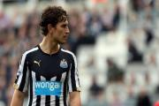 SLOTTING IN: Daryl Janmaat is expected to play at centre-half in Newcastle's next three matches - even though his experience of the position is extremely limited