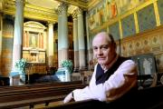 TREASURES: Simon Howard in the chapel at Castle Howard