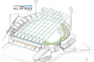 Gillespie angered over retractable roof plans at Headingley asking what happens if player 'smokes a shot straight into it?'
