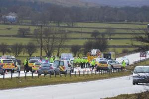 Couple killed in A66 accident near Bowes