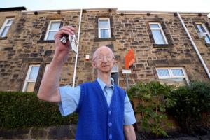 'I've had a calling from God' says mugged Alan Barnes as he sells house funded by well-wishers